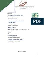 Monografia de Teoria de Investigación Formativa