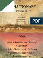 Evolutionary Diversity