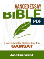 Advanced Essay Bible