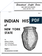 Indian History of NYS - Part 1. William Ritchie. Educational Leaflet No 6.