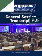 2018 Transcripts
