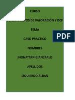FUNDAMENTOS DE VALORACIÓN Y DCF caso practico