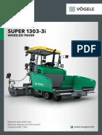 Vogele PavimentadorasPneus SUPER1303-3i