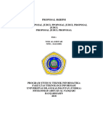 Latihan Format Proposal