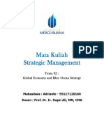 11, SM, Adrianto, Hapzi Ali, Global Economy and Blue Ocean Stategy, Universtitas Mercu Buana, 2018