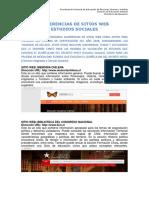 Sugerencias de Sitios Web Estudios Sociales
