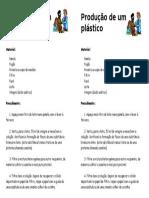 Produção de Um Plástico