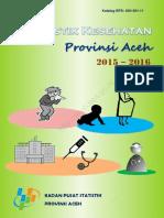 Statistik Kesehatan Provinsi Aceh 2015-2016
