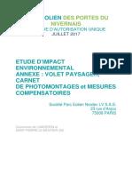 Étude d'impact environnemental annexe