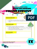 2.1 LKPD KD 3.7 Dan 4.7 Volume Kerucut