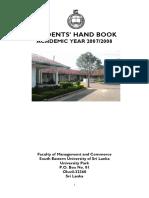Students Handbook Fmc