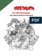 SPD-Liederbuch Mit Noten
