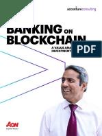 Accenture Banking on Blockchain