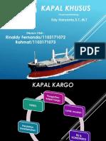 Kapal Khusus(kapal kargo)