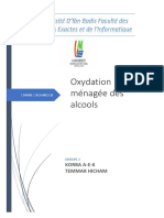 oxydation menagee