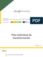 Módulo 4. Plan individual de transformación