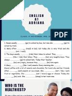 Adriana - Lesson 18 - November, 02nd [Salvo Automaticamente]