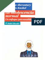Aberastury y Knobel - La adolescencia normal.pdf