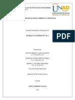 SISTEMAS AVANZADOS DE TRANSMISION II ACT6 208002 5 Trabajo Colaborativo No. 1