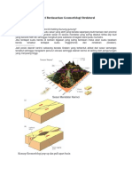 Analisis Geologi Kerinci Berdasarkan Geomorfologi Struktural