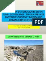 Evaluacion de Filtraciones en Una Presa y Tunel Ichm