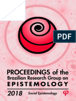 Proceedings of the Brazilian Research Group on Epistemology 2018