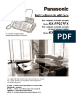 Manual utilizare fax PANASONIC model KX - FP218.pdf