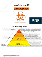 Biosafety Level 2- Ratno