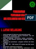 Pemberdayaan PJK3 & Ahli K3