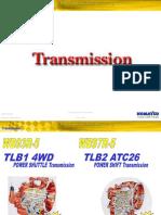 Course Komatsu Wb93r5 Wb97r5 Backhoe Loaders Hydraulic System