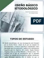 DISEÑO BÁSICO METODOLÓGICO