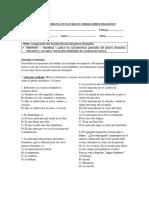 Guía evaluada 8° Básico Unidad Género Dramático