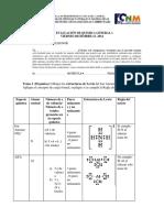 examen quimica general 12 Diciembre 2014