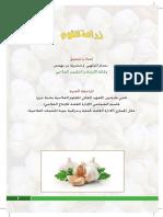 زراعة الثوم في تونس