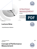 Strategic Management - Lec 9