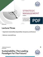 Strategic Management - Lec 3