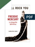 Lesley-Ann Jones - I Will Rock You. Freddy Mercury. La Biografia Definitiva