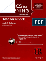 3C. Tactics for Listening 3rd Ed Developing Teacher Book