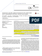 Acupuncture for OA Knee