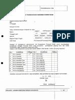 Permohonan Kompetensi Proses Kredensial Dan SK SPK