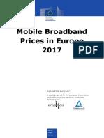 Mobile Broadband Prices 2017 Executive Summary PDF