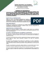 Tdr Cobertura de Losa Deportiva - Jma Curahuasi