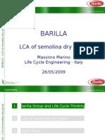 Massimo Marino - Lca of Semolina Dry Pasta