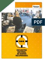 Encuentro Nacional de Diarios Recuperados