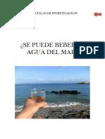 AI-se Puede Beber El Agua Del Mar