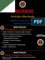 #4 MANUTENÇÃO - Planejamento Programacao e Controle
