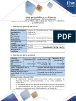 Guía de actividades y rúbrica de evaluación - Fase 4 - Evaluación y acreditación