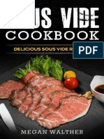 Sous Vide Cookbook_ Delicious S - Megan Walther