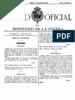 1913 Marzo 11 Diario Oficial Ministerio de la Guerra (España)