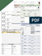 ForgedAnvil D&D 5E Character Sheet Printable v2.20 Español
